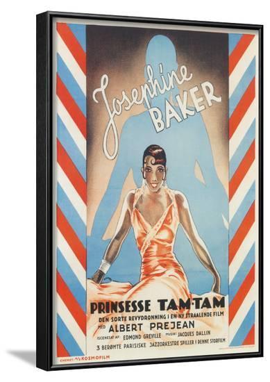 Princess Tam-Tam, Josephine Baker--Framed Art Print