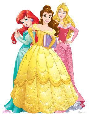 Princesses Group - Ariel, Belle, Aurora - Disney Princess Friendship Adventures