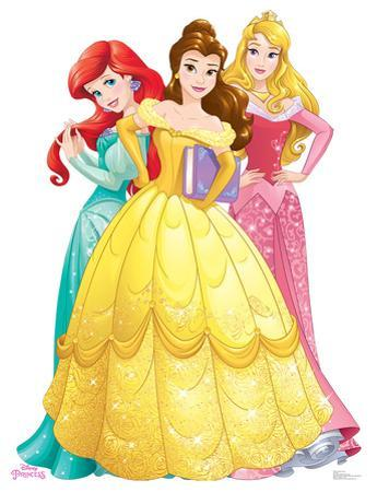 Princesses Group - Ariel, Belle, Aurora - Disney Princess Friendship Adventures