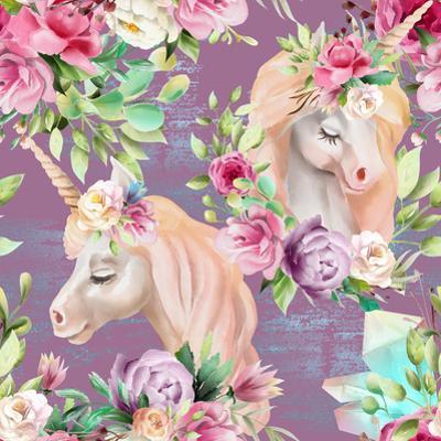 Beautiful Watercolor Unicorns by princhipessa