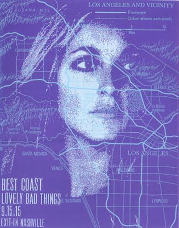 Best Coast by Print Mafia