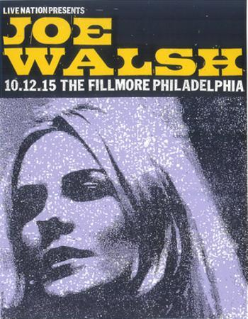 Joe Walsh by Print Mafia