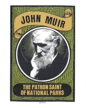 John Muir by Print Mafia