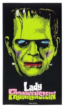 Lady Frankenstein by Print Mafia