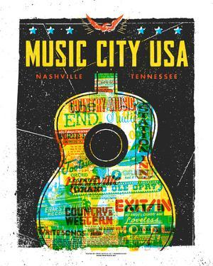 Music City USA by Print Mafia