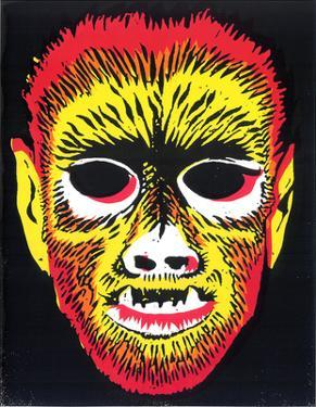 Werewolf Mask by Print Mafia