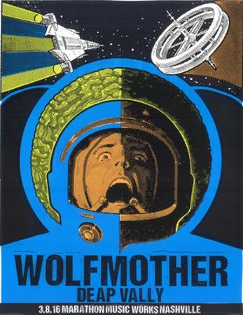 Wolfmother Nashville by Print Mafia