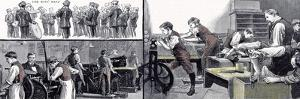 Printing Office and the Carpenters Shop the Anniversary of the Little Boys Home at Farningham and S