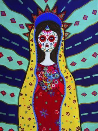 Virgin Guadalupe Dia De Los Muertos by Prisarts