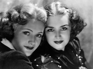 Priscilla and Rosemary Lane, c.1936