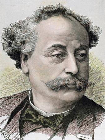 French Novelist and Playwright. Illegitimate Son of Alexandre Dumas