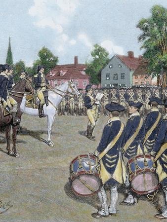 General Washington's Army in New York on July 9, 1776 by Howard Pyle, 1892 by Prisma Archivo