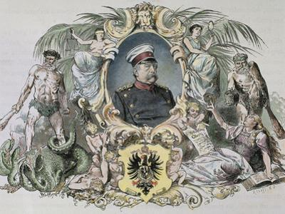 German Statesman. Proclamed Chancellor of the Empire in 1871