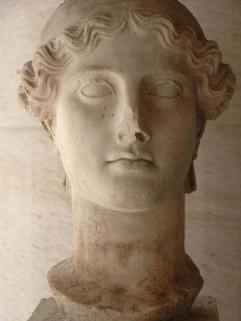 Head of Nike (Ii Century Ad), Agora Museum, Athens, Greece by Prisma Archivo
