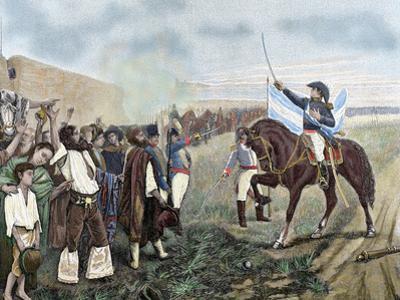 Independence of Argentina. Manuel Belgrano (1770-1820)