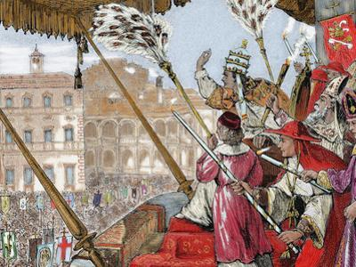 Leo X (1475-1521). Florentine Pope (1513-1521), Named Giovanni De Medici. Son of Lorenzo De Medici