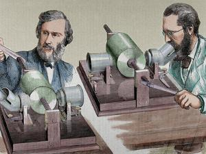 Phonograph. Created in 1877 by Thomas Alva Edison (Milan, Ohio, 1847-West Orange, 1931) by Prisma Archivo