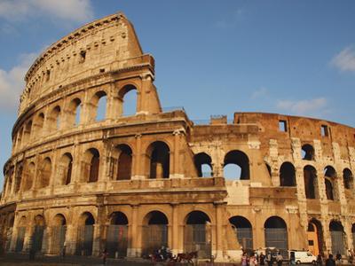 Roman Art, the Colosseum or Flavian Amphitheatre, Rome, Italy