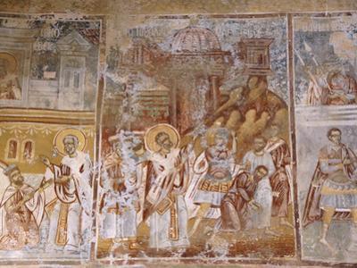 Saint Nicholas Church, Turkish Period, Mystra, Province of Lakonia, Peloponeso, Greece