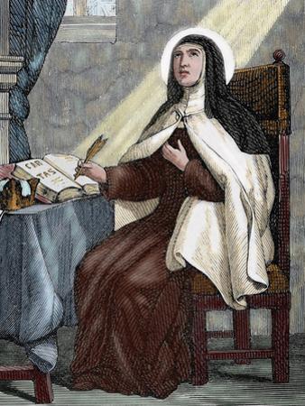 Teresa of Avila (1515-1582). Religious Reformer of the Carmelite Order by Capuz