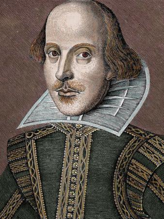 William Shakespeare (Stratford-On-Avon, 1564-1616). English Writer by Prisma Archivo