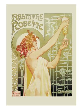 Absinthe Rebette by Privat Livemont