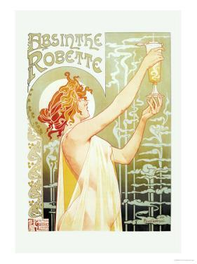 Absinthe Rebette by Privat Livemont
