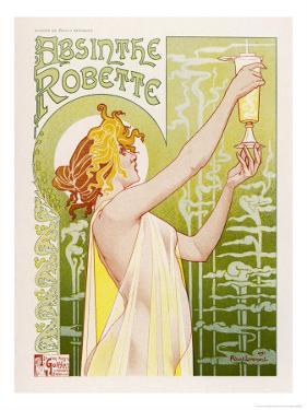 Absinthe Robette by Privat Livemont