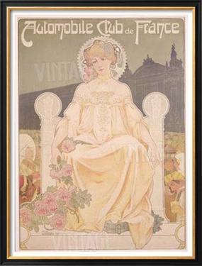 Auto Club de France by Privat Livemont