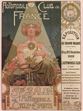 Automobile Club de France, c.1902 by Privat Livemont