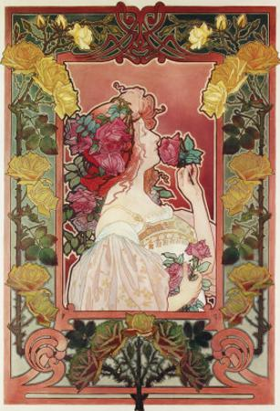 The Scent of a Rose, C.1890 by Privat Livemont