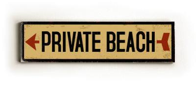Private Beach arrow