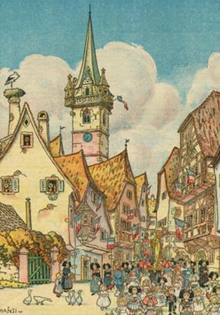 Procession in Alsace