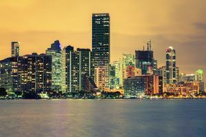 City of Miami, Summer Sunset by prochasson