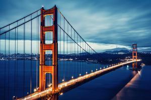 Cross Processing Golden Gtae Bridge by prochasson