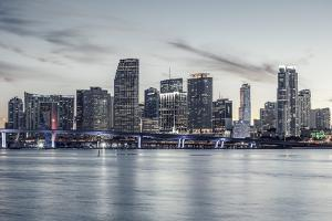 Famous City of Miami, Special Photographic Processing. by prochasson