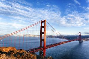 Famous View of Golden Gate Bridge by prochasson