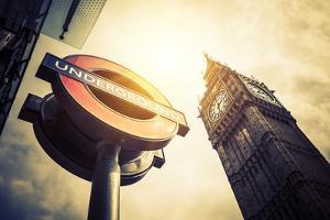 Underground and Big Ben by prochasson