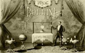 Professor Bollini, The Italian Magician