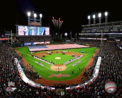 Progressive Field Game 1 of the 2016 World Series