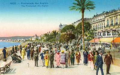 Promenade, Nice, France