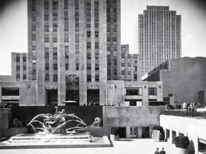 Prometheus Fountain at Rockefeller Plaza