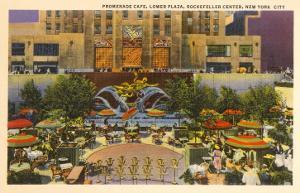 Prometheus Fountain, Plaza, Rockefeller Center, New York City
