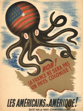 Propaganda Poster of the French Communist Party