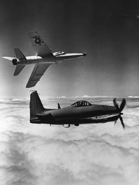 Propeller and Jet Fighters of the U.S. Navy
