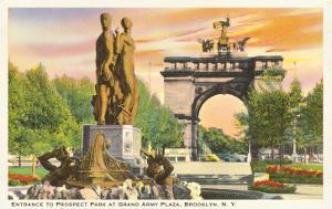 Prospect Park Entrance, Brooklyn, New York