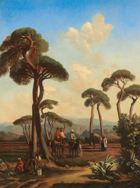 Arabs and Camels at Rest, 1847 by Prosper Marilhat