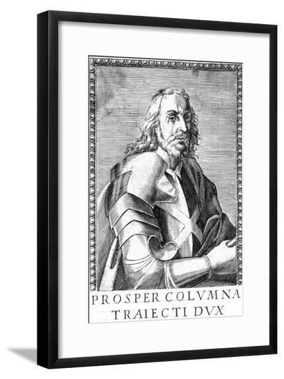 Prospero Colonna, Mil.--Framed Giclee Print