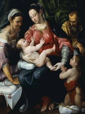 Holy Family by Prospero Fontana