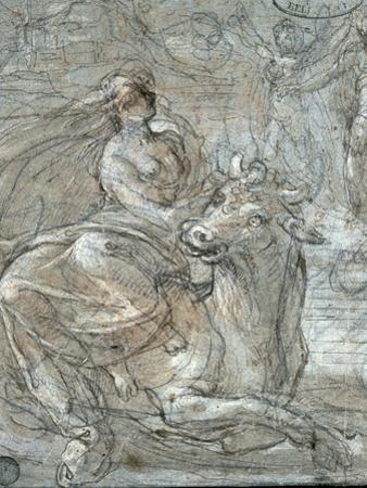 The Abduction of Europa by Prospero Fontana